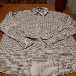 Chaps 16-16 1\2 men's button-down shirt